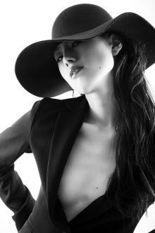 ポートレート写真白黒